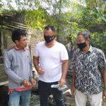 Isap Ganja Dibelakang Rumah, Orang Ini Digerebek Polisi