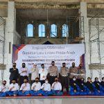 Dirlantas Polda Aceh Sosialisasi Protokol Kesehatan dan Etika Berlalulintas di Pesantren Tgk Chiek Oemar Diyan