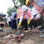 Wali Kota Banda Aceh Lakukan Peletakan Batu Pertama Rumah Produksi Program Kotaku