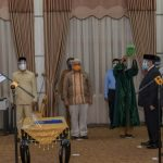 Plt Gubernur Aceh Lantik Manajemen Baru BPKS Sabang Periode 2020-2025