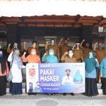 Dyah Erti Kampanyekan Gebrak Masker di 4 SKPA