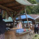 Dyah Erti Sosialisasi Penggunaan Masker di Kawasan Wisata Leupueng
