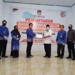 Ribuan Elemen Masyarakat, Kawal Pasangan Tony – Antoni Daftar Ke KPU Lampung Selatan