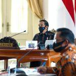 Presiden Harapkan Kepala Daerah Waspadai Tren Penyebaran Covid-19