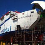 Kapal KMP Aceh Hebat I, Diluncurkan Oktober