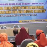 Dyah Erti Sosialisasi PAUD HI pada Rakor Bunda Aceh