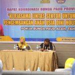 Ketua DWP Tutup Rakor Bunda PAUD Aceh Tahun 2020