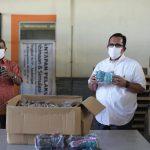 Pemerintah Aceh Distribusikan 200 Riau Masker Tambahan ke Dayah