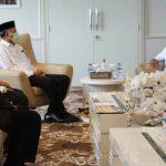 Plt Gubernur Laporkan Kesiapan Aceh Jadi Tuan Rumah PON XXI kepada Menpora