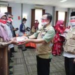 Cegah Penyebaran Covid-19, Dinas Pendidikan Aceh Salurkan Masker Vokasi Merah Putih