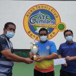 Aminullah/Tio Lana Juara Tennis Antar Top Player 2020