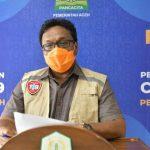 Kasus Konfirmasi Covid-19 di Aceh Menurun