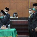 DPRA Setujui Rancangan Qanun Aceh Tentang Pertanggungjawaban Pelaksanaan APBA 2019