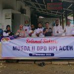 HPI Aceh Gelar Musda II Dengan Virtual