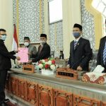 Fraksi PAN DPRK Banda Aceh Berikan Pandangan Raqan RDTR dan Raqan Pendidikan Diniah