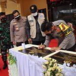 Kapolda Aceh Resmikan Gedung di Polres Aceh Timur