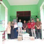 Ikatan Mahasiswa Aceh Selatan Leting 2020 Salurkan Bantuan Sembako Ke Wilayah Terdampak Banjir