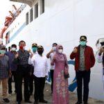 KMP Aceh Hebat 2 Januari 2021 Berlayar