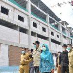 Gubernur Aceh Tinjau Pembangunan Gedung Oncology RSUDZA