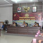 Polresta Banda Aceh Gelar Konferensi Pers Akhir Tahun 2020 Bersama Awak Media