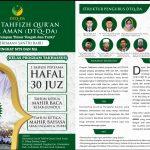 Besok, DTQ Darul Aman Gelar Relaunching dan Maulid Nabi