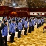Pemerintah Aceh Lantik 113 Pejabat Administrator dan Pengawas