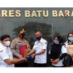 Polres Batubara Raih Penghargaan dari BPI KPNPA RI