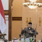 Gubernur Aceh Terima Kunjungan Silaturahmi Legiun Veteran RI