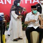Gubernur bersama Forkopimda Aceh Disuntik Dosis Kedua Vaksin Covid-19
