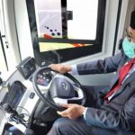Gubernur Aceh Uji Coba Bus Listrik Trans Koetaradja