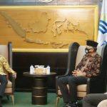 Gubernur Sampaikan Perkembangan Investasi Aceh ke Kepala BKPM-RI