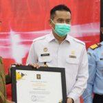 Gubernur Aceh Terima Penghargaan dari Kementerian Hukum dan HAM