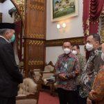 Gubernur Aceh Terima Silaturahmi Manajemen Bank Syariah Indonesia