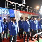 Gubernur Lantik FPMPA di Geladak Kapal Aceh Hebat