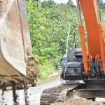 Gubernur Nova Letakkan Batu Pertama Peningkatan Jalan Batas Gayo Lues – Babah Roet