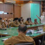 Seluruh Camat Paparkan Strategi Penanganan Covid di Hadapan Sekda Aceh