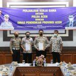 Pengembangan Pendidikan lalu Lintas, Disdik Aceh dan Polda Aceh Jalin kerjasama