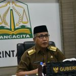 Gubernur Aceh Ikut Kortekrenbang 2021 Secara Virtual