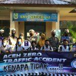 Kapolda Aceh Bagikan 500 Masker ke Pelajar SMPN 12 Banda Aceh