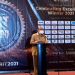 Muhammad Nazar Dianugerahkan Inspiring Innovative Professional 2021