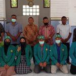 Mahasiswa KKNT-MM II Universitas Syiah Kuala Adakan Perpisahan