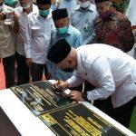 Bupati Aceh Tengah Resmikan Sejumlah Fasilitas Program KOTAKU