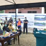 Gubernur Aceh Letakkan Batu Pertama Pembangunan Jalan dan Irigasi di Simeulue