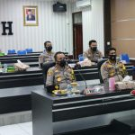 Wakapolda Aceh Ikuti Upacara Penyerahan Pataka Secara Virtual