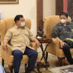 Temui Surya Paloh, Prabowo, Airlangga Sebut Koalisi Pilpres Dibentuk 2023