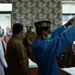 Tenaga Kontrak Pemerintah Aceh 2021 Ikrarkan Sumpah