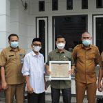 Ketua DPRK Sambangi Rumoh Manuskrip Kuno Aceh