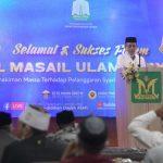 Gubernur Buka Forum Bahtsul Masail Ulama Dayah Aceh