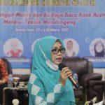 Bunda PAUD Aceh, Semua Kalangan harus Terlibat Aktif Bangkitkan Semangat Literasi