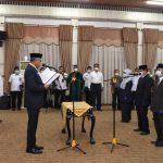 Gubernur Lantik Pejabat Tinggi Pratama di Lingkungan Pemerintah Aceh